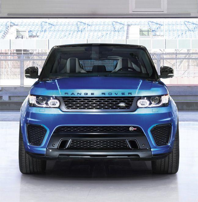 Range Rover Sport SVR : Le plus rapide et le plus puissant des Range Rover.                                                                                                                                                                                 Plus