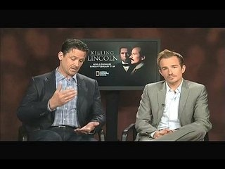 """Killing Lincoln: Exclusive: Billy Campbell and Jesse Johnson -- We go one-on-one with actors Billy Campbell and Jesse Johnson to talk about """"Killing Lincoln"""". -- http://wtch.it/8jr5Z"""