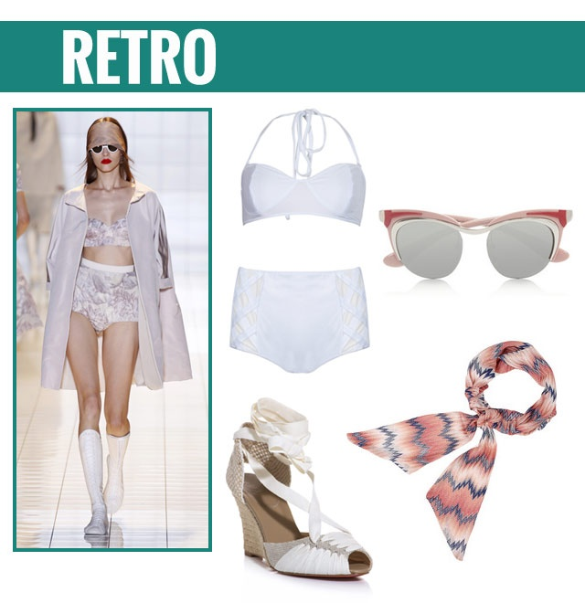 Best Retro Swimsuit Inspired by Spring Fashion Trends
