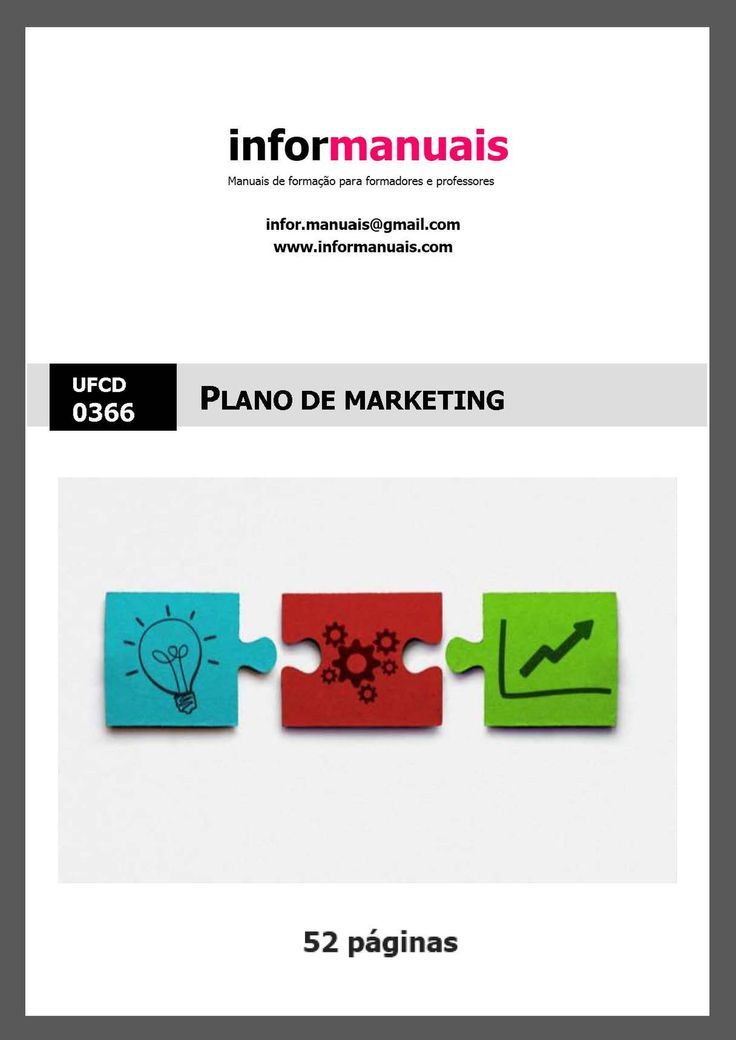 0366. Plano de marketing