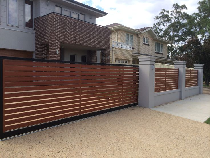 17 Best Images About Modern Fence Options On Pinterest