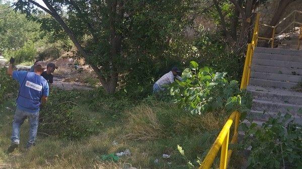 <p>- Estas medidas se realizan con el fin de prevenir el desborde por lluvias</p>  <p>Chihuahua, Chih.- Como parte de los trabajos permanentes