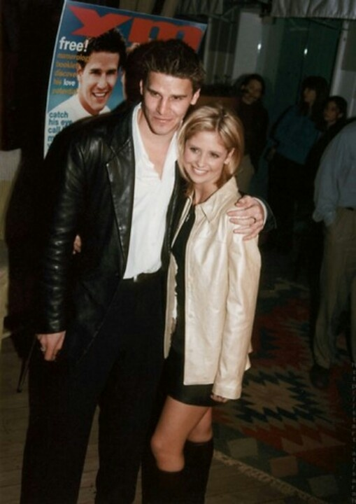 Sarah Michelle Gellar and David Boreanaz | celebs ...