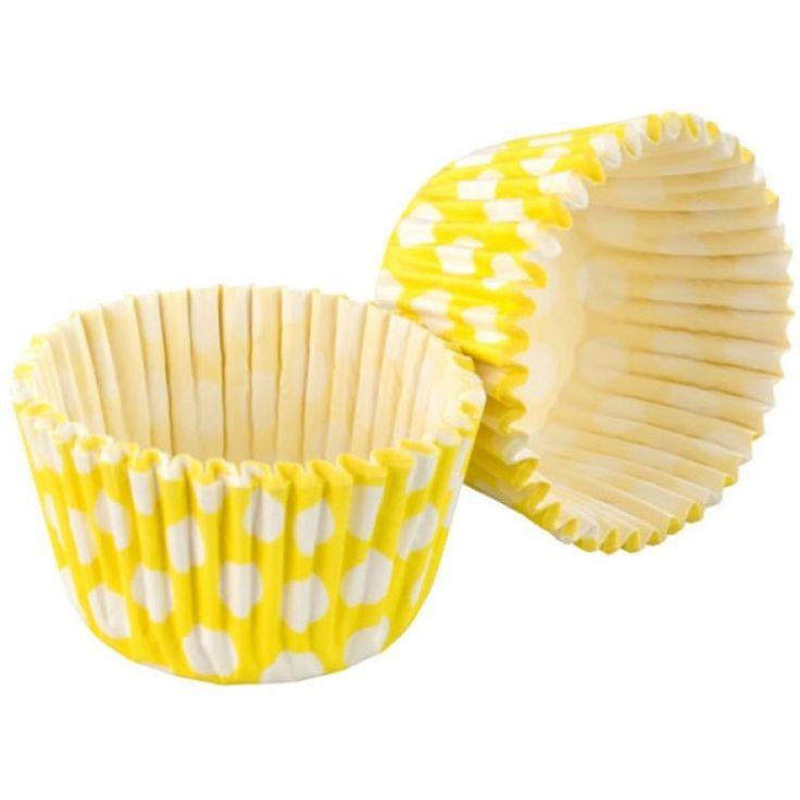 Tala Muffinsformar Prickar 32 st Gul, Tala, Bakformar 25% rabatt |Kökets Favoriter