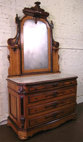 Circa 1870 Rosewood and Birdseye Maple Dresser  Victorian FurnitureVintage  FurnitureAntique. 758 best Victorian Decor   Furniture images on Pinterest