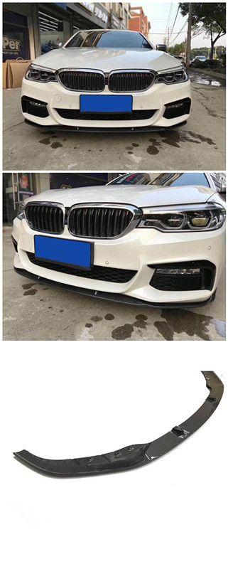 5 Series G30 Front Lip 530i 540i M Sport model Carbon Fiber Front Lower Lip Spoiler For BMW G30 2017 UP Skype:Jcsportline-Nicole WhatsApp:+86 15271799951 Email:sales024@jcsportline.net Mobile: +86 15271799951 Web: www.jcsportline.com