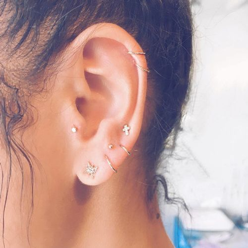 We love this unique piercing trend.