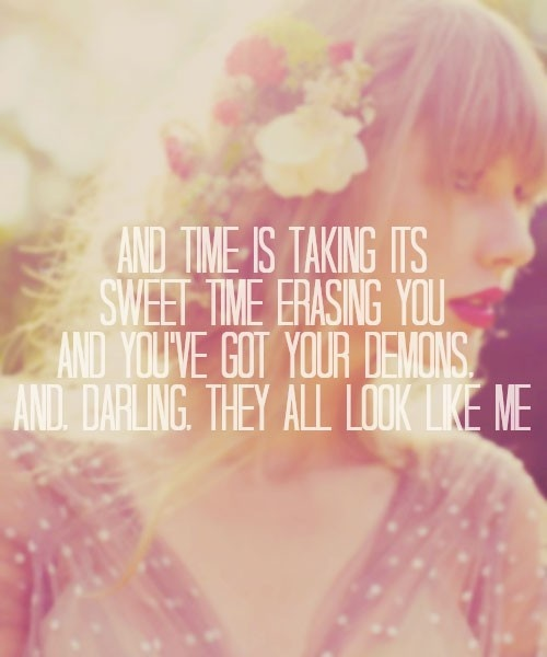 Taylor Swift Red Album Quotes