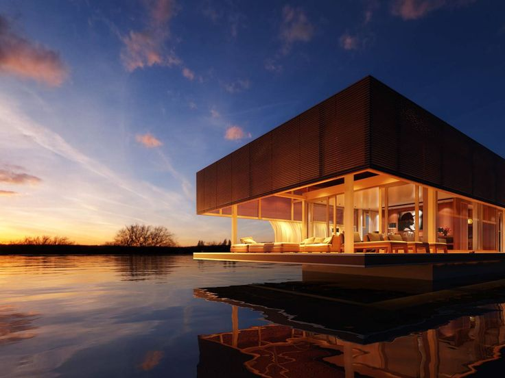 Waterlovt luxury houseboat design The Waterlovt Luxury Houseboats Are Eco friendly, Self sufficient and Self sustaining