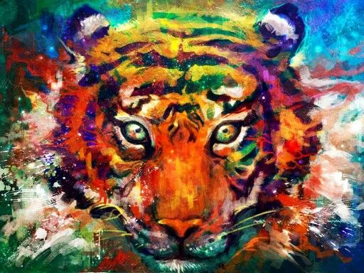 Portait of the tiger...