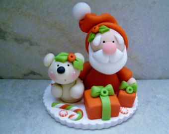 Snowman Polymer Clay Christmas Holiday by countrycupboardclay