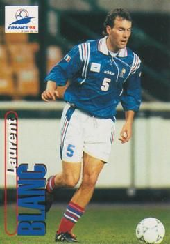 1998 Panini World Cup #15 Laurent Blanc Front