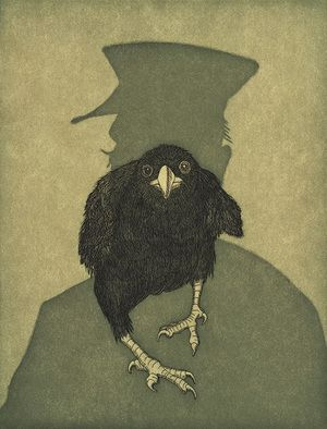 THE RAVEN WAS FRIGHTENED BY AUDREY NIFFENEGGER