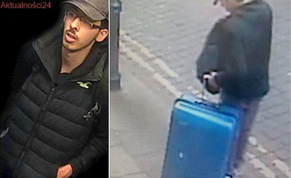 """Policja szuka walizki zamachowca, pokazuje zdjęcie. """"Prosimy o ostrożność"""""""