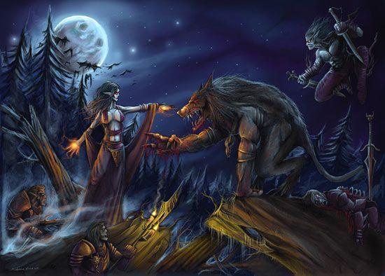 vampires vs werewolves | Fictional Books Blog: Poll: Alternatives to Vampires and Werewolves
