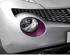 Nissan Juke Black Purple Headlamp Finishers - KE6101K260BP