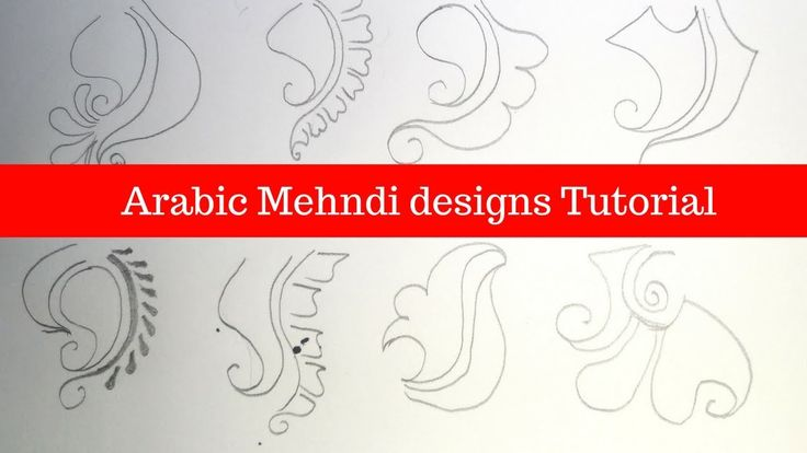 Check out beautiful & simple arabic mehndi designs step by step tutorial by Namrata Sondagar.