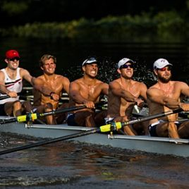 Rowing Tips of the Olympians -- Who better to get them from than our own M8+! Go Team USA!