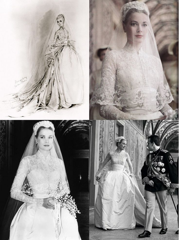 I ADORE Grace Kelly's Wedding Dress