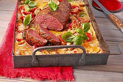 Rinderfilet aus dem Ofen (Rezept mit Bild) von monikap | Chefkoch.de