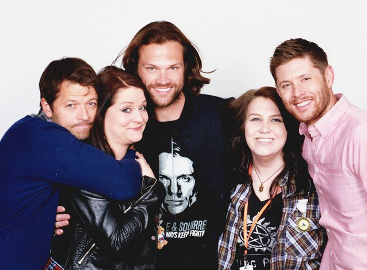 Fangirl Quest under the protection of Misha Collins, Jared Padalecki and Jensen Ackles at Asylum 14. The most emotional encounter of all times...