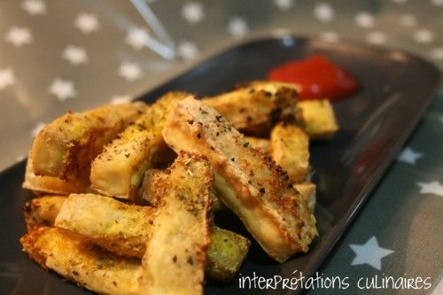 VEGETARIEN - Simplissimes frites de tofu