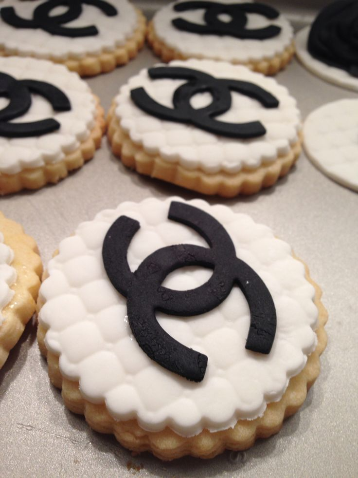 Chanel butter cookies