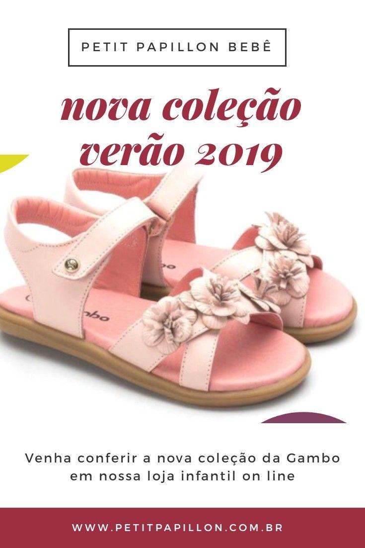 81bc1e41e Venha conferir nossa nova coleção de calçado infantil da Gambo. São  sandálias