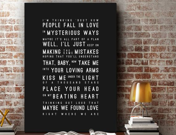 25 best ideas about thinking out loud on pinterest - Ed sheeran give me love live room ...
