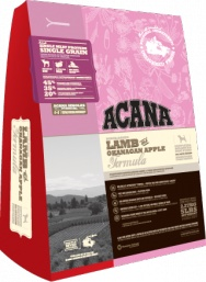 ACANA Lamb & Okanagan Apple  For dogs of all breeds and sizes