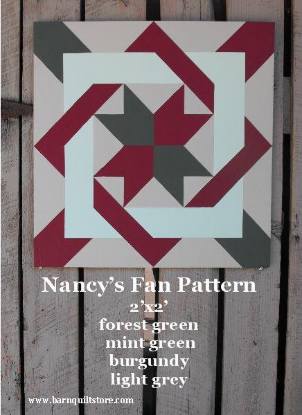 Nancy fan pattern