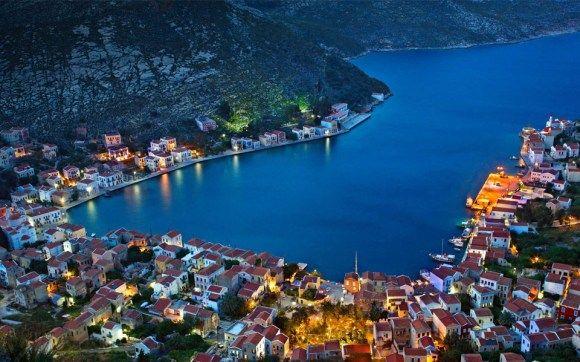lago Kastellorizo, na Grécia - Foto de Hercules Milas