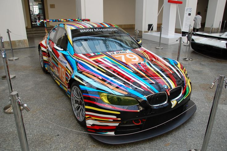 BMW M3 GT2 - painted by Jeff Koons