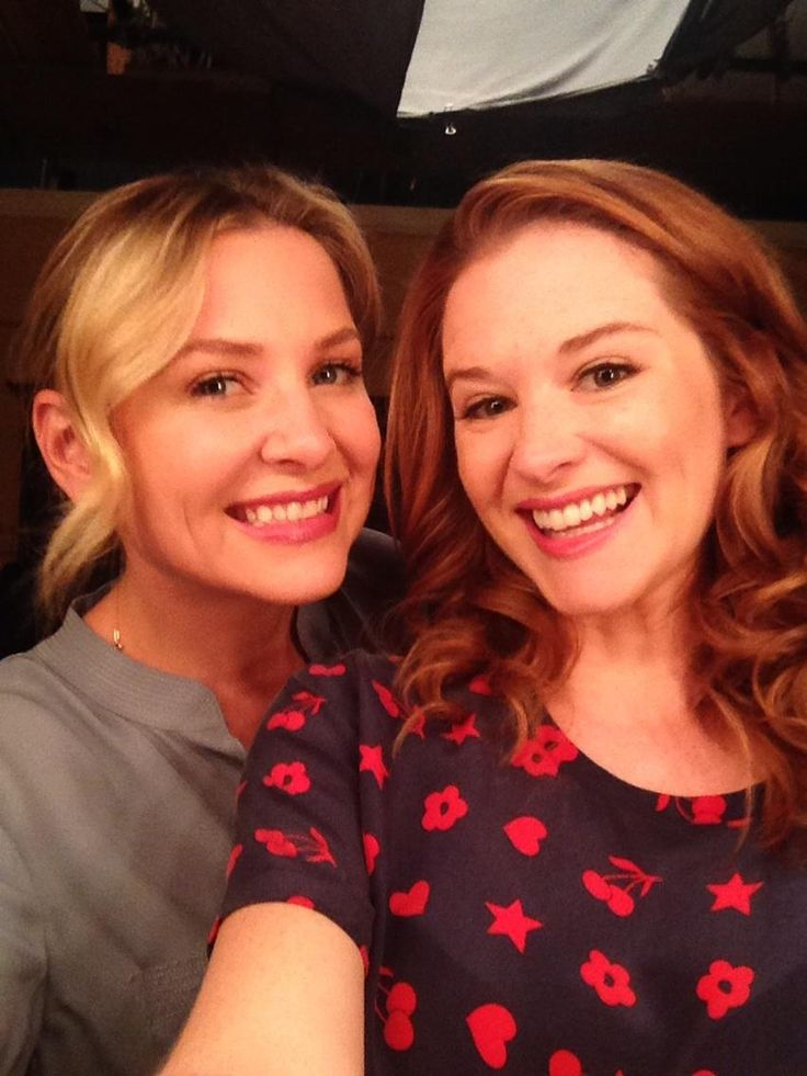 Jessica Capshaw and Sarah Drew