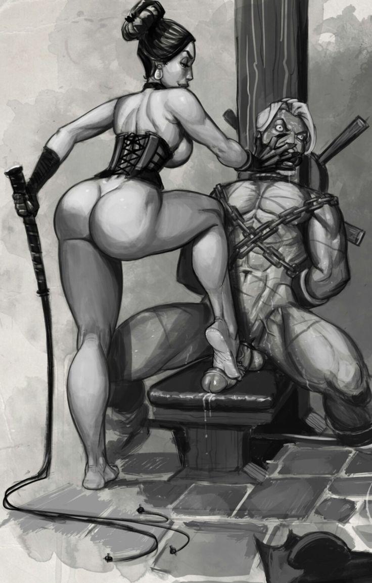 femdom drawing yahoo