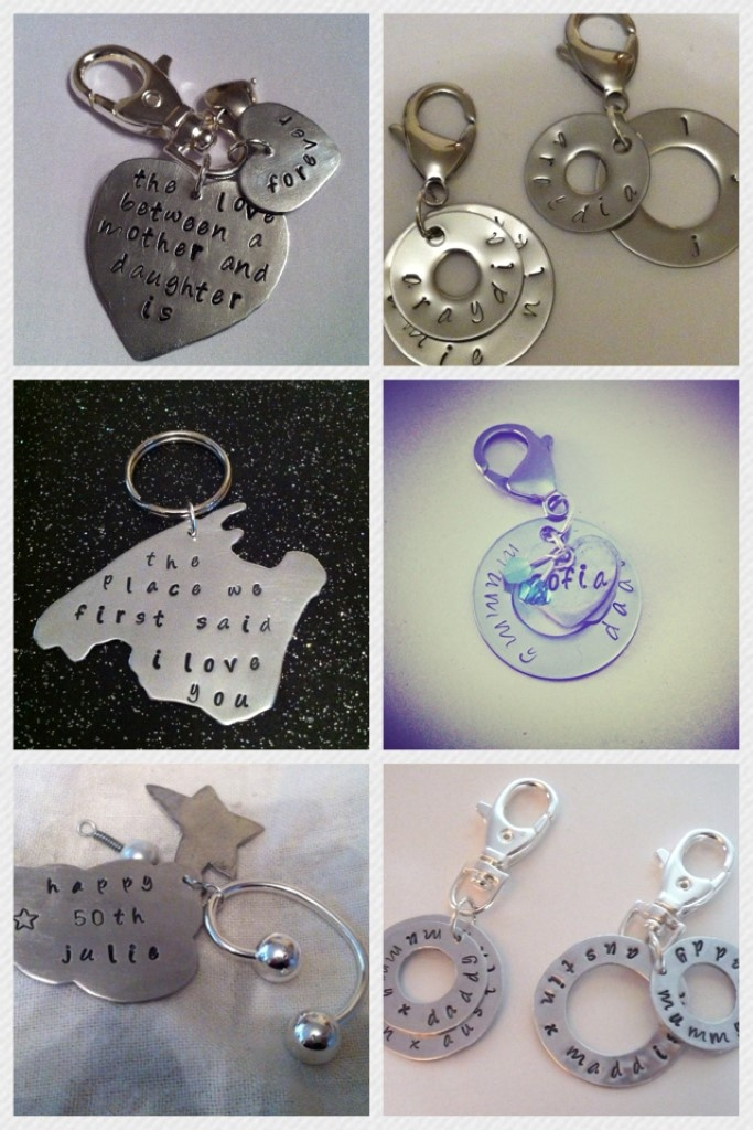 Personalised Keyrings - Any shape or design! - The Supermums Craft Fair