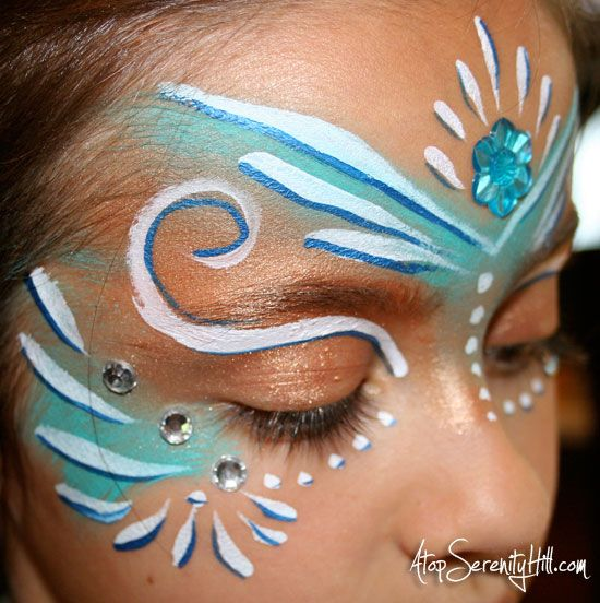 Face Painting Tutorial for fairy costumes or parties!