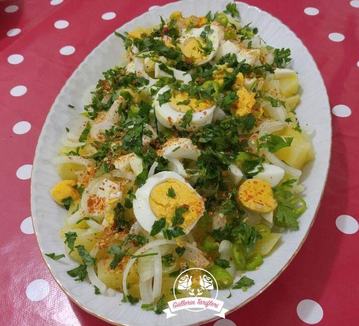 Yumurta Salatası | Güllerin Tarifleri