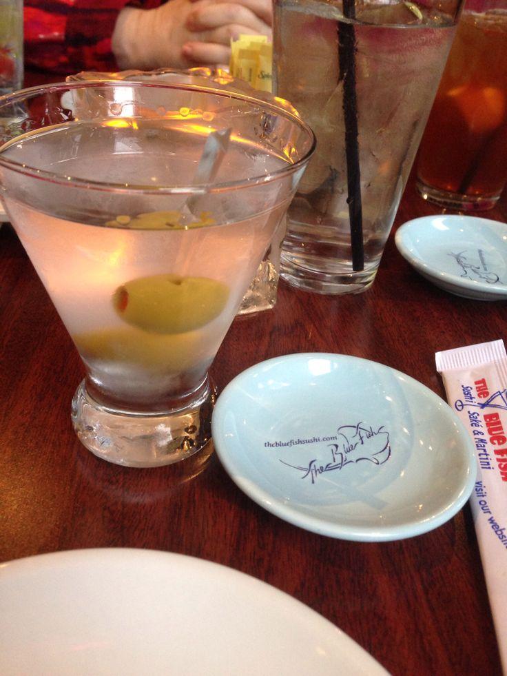 Grey Goose Martini. Blue Fish Houston, TX