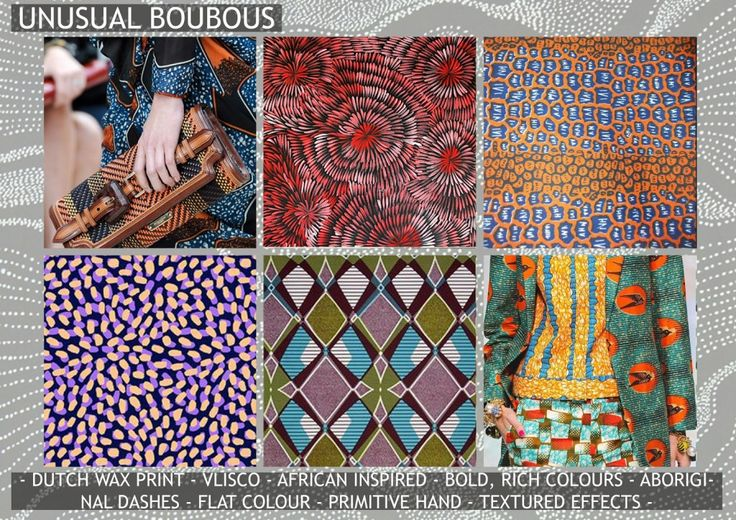unusual boubours 7 -premiere vision s/s 2016 print trend predictions