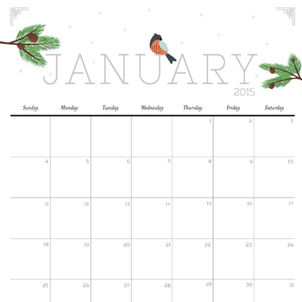Top 25 best Free 2015 calendar ideas on Pinterest Free calendar