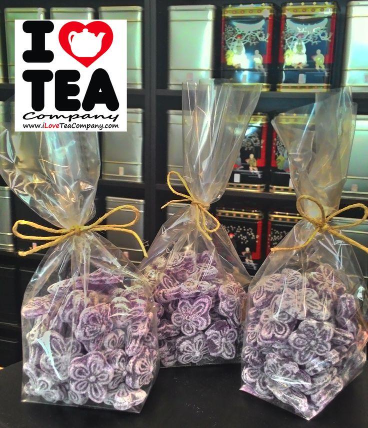 Caramelos Violetas, ¿quién puede resistirse a los recuerdos? Bolsa de 100 gr a 1,50 euros (ref. CarameloVioleta)
