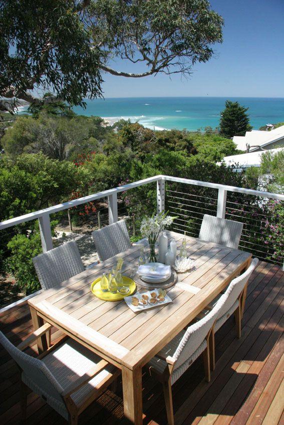 On the deck at a Noosa Beach House http://www.queenslandholidays.com.au/destinations/queensland-locations/noosa-heads/index.cfm #thisisqueensland
