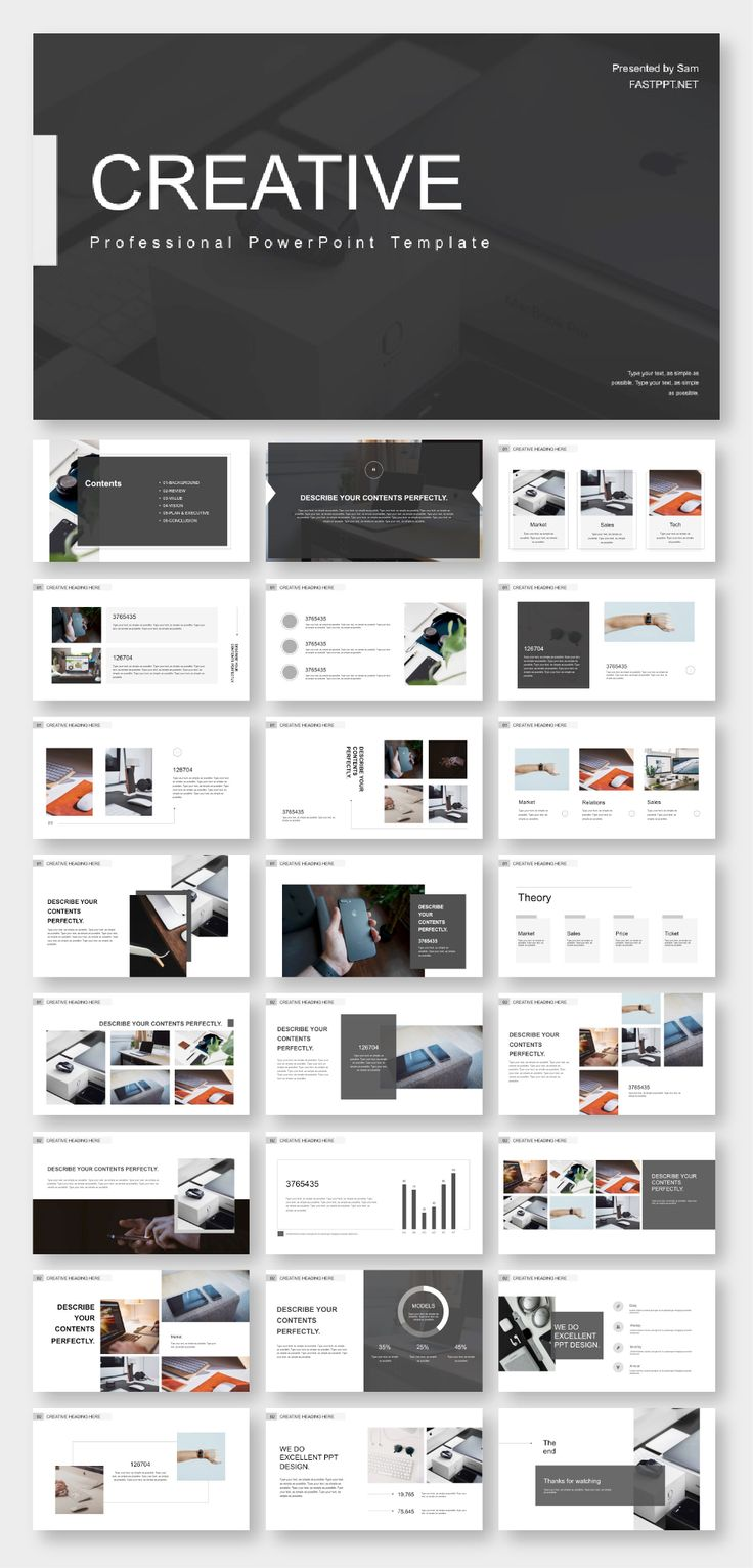 Business Design Minimal Presentation Template Powerpoint