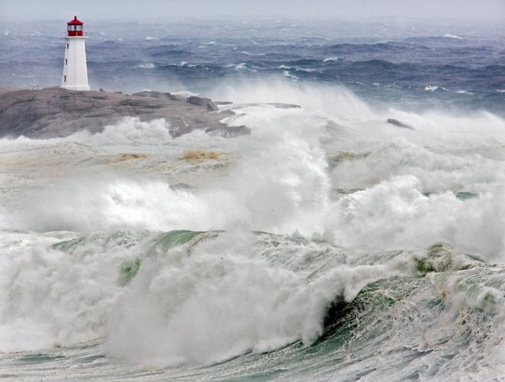 Tropical Storm Earl Pounds Maine Coast.