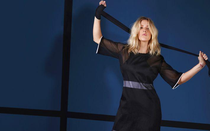 Hämta bilder Ellie Goulding, blond, brittisk sångare, skönhet, superstars