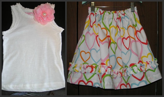 On Sale Now  OOAK Valentines Twirl Skirt and your by LuLuetGiGi, $45.00Valentine Twirling, Ruffles Skirts, Ooak Valentine, Fab Fashion, Twirling Skirts, Fashion Finding