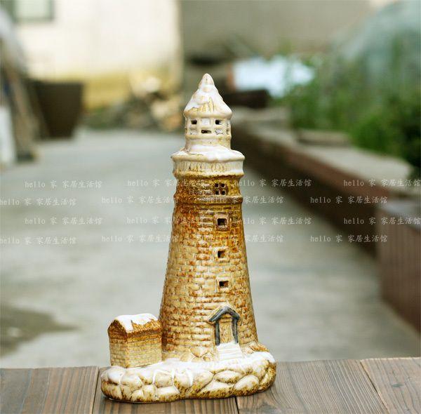 ファインセラミックス灯台ムースセラミック家の装飾
