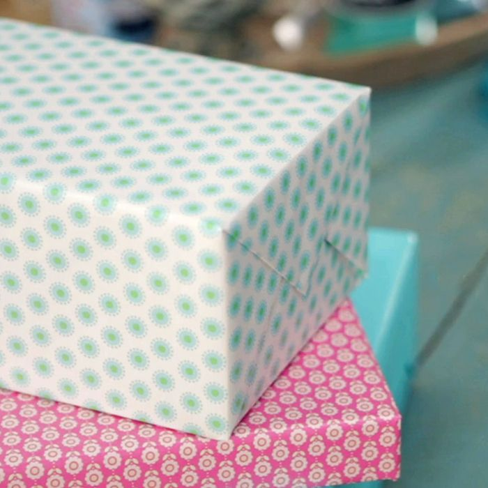 Learn the art of gift wrapping from the experts at Hallmark. Watch this fun video to learn how to wrap a present and make it perfectly presentable! #Hallmark #HallmarkIdeas