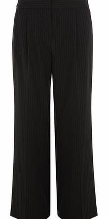 Dorothy Perkins Womens Tall Grey Pinstripe Wideleg Trousers- Tall grey pinstripe wideleg trousers. Wearing length is approximately 91cm. 100% Polyester. Machine washable. http://www.comparestoreprices.co.uk//dorothy-perkins-womens-tall-grey-pinstripe-wideleg-trousers-.asp